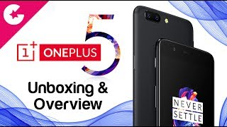OnePlus 5 Unboxing & Hands On (8GB RAM, 128GB Midnight Black)
