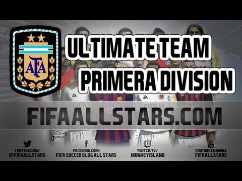 FIFA14 Ultimate Team Argentina Primera Division - FIFAALLSTARS.COM