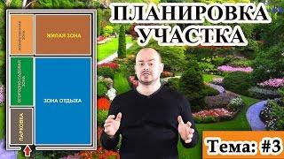 видео Примеры планировки участка загородного дома: особенности и правила