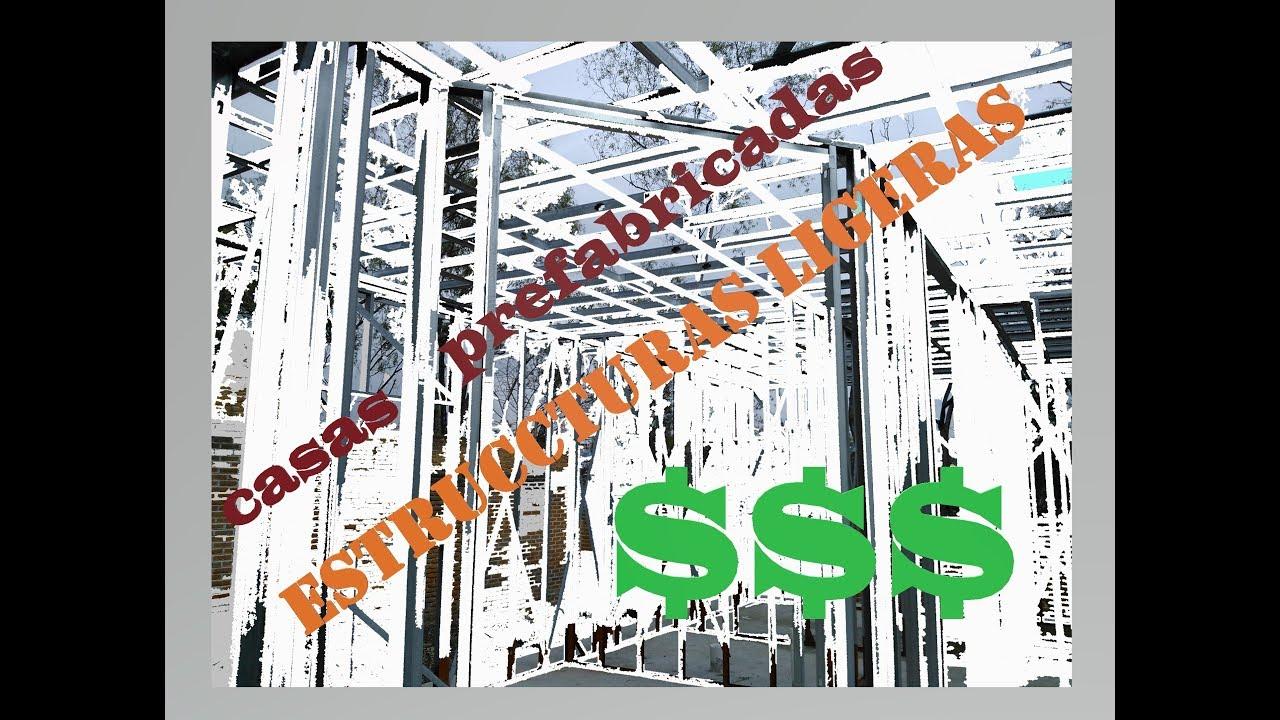 Viviendas prefabricadas con estructuras de acero - YouTube