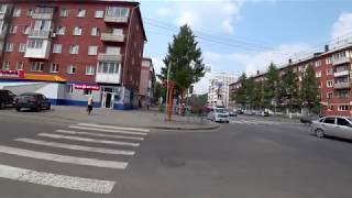 #1. Кемерово, пешие прогулки. 4K