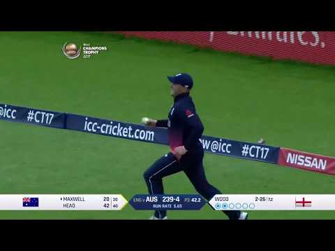 Jason Roy's athletic catch! #ENGvAUS Nissan Play of the Day #CT17