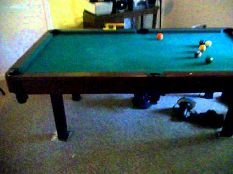 Sportcraft Pool Table YouTube - Sportcraft 1926 pool table