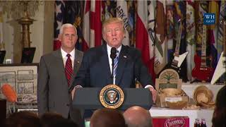 AMAZING: President Donald Trump Delivers AN POWERFUL SPEECH Made in America Product Showcase 2017