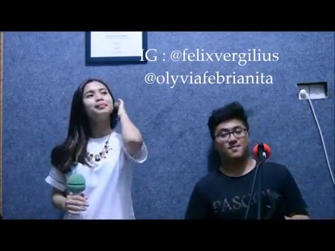 Percayalah (Afgan ft Raisa) cover by Olyvia & Felix Vergilius
