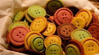Детское печенье Пуговицы рецепт. Печенье пуговки. Песочное печенье рецепт.