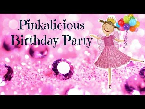 Pinkalicious Birthday Party Theme:  Everthing Pink, Pink, Pink & More Pink!