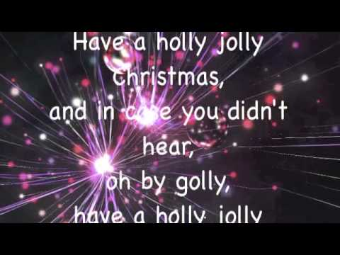 Advent Calendar day four! Have a holly jolly Christmas Michael Buble