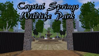 Zoo Tycoon 2: Crystal Springs Wildlife Park Part 1 - The Entrance