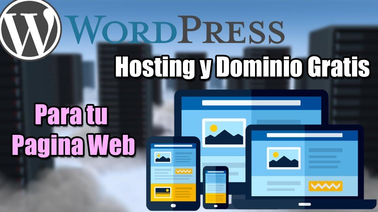 Página 3 De 4: Crear Tu Propia Pagina Web Con Hosting Y Dominio Gratis