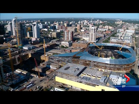Local Nightly News (Global Edmonton) Inside The Arena, July 28, 2015