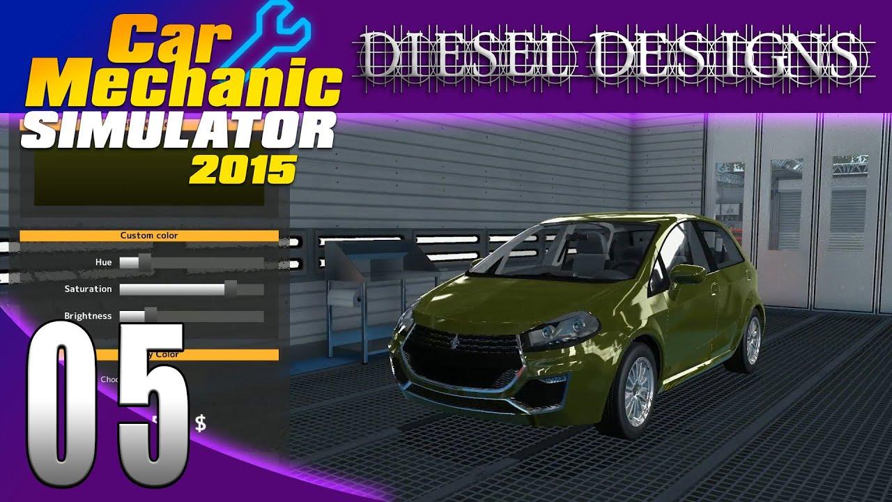 Car mechanic simulator 2015 let 39 s play ep05 paint shop for Car paint simulator
