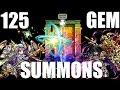 Brave Frontier {JAPAN} | Episode: #2: FUNNY 125 Gem Summons!!