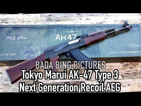 Tokyo Marui AK-47 Type 3 Next Gen Recoil AEG Review