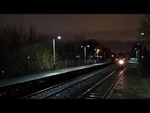 1080p Test Train Trafford Park 18/1/2018