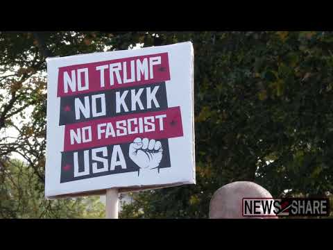"""Only Three Show up to DC Nov4 """"Refuse Fascism"""" Protest"""