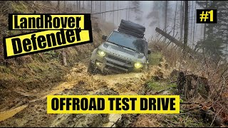 Land Rover Defender Offroad Test Drive!