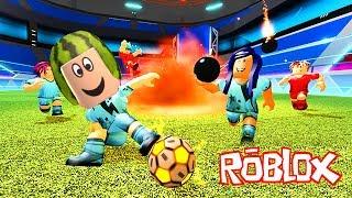 Karpuz Kafa ile Futbol Maçı ⚽ Roblox Super Striker League