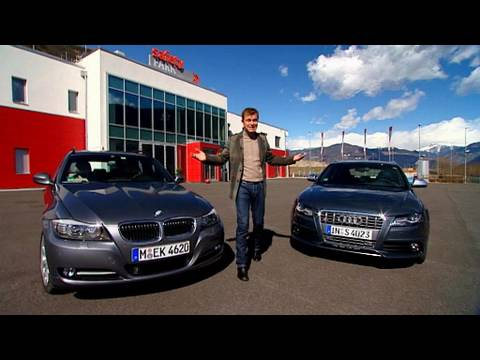 audi s4 avant vs bmw 335i touring youtube. Black Bedroom Furniture Sets. Home Design Ideas