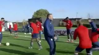 Ademola Lookman 🇳🇬 cheeky Nutmeg on England boss