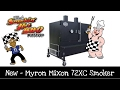My New BBQ Smoker ~ Myron Mixon 72XC Smoker
