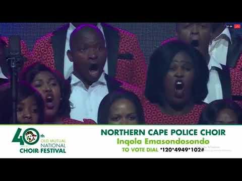 Northen Cape Police Choir NCF 2017 Finals Inqola Emasondosondo