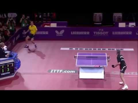 GATIEN Jean-Philippe FRA vs SAIVE Jean-Michel BEL - WTTC  Paris  Match