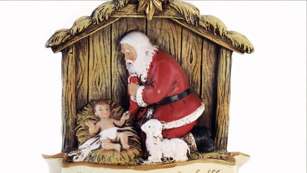 83436ff38e7 Kneeling Santa Verse Ornament - YouTube