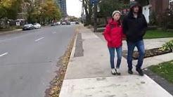 Toronto Neighbourhood Walk - Chester Hill Lookout, East York-Pape Village, Greektown - 4K
