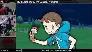 Pokemon Y Speedrun (3:59:05 RTA)