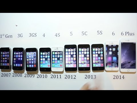 Iphone All Model Compare