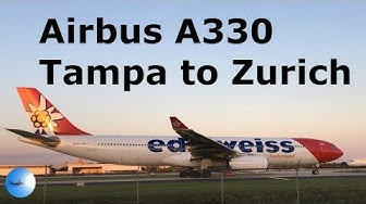 Edelweiss A330 Takeoff Tampa Plane Spotting