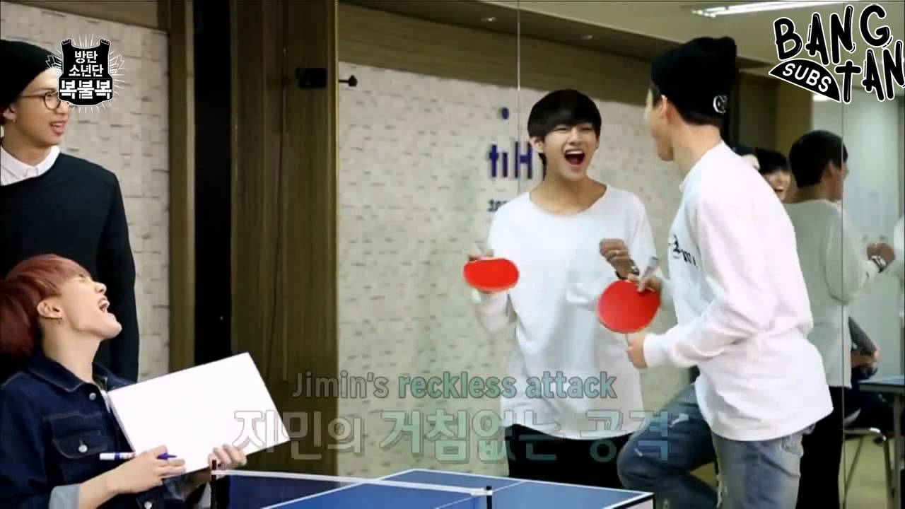 [ENG] 150605 STARCAST: BTS' Lucky Draw - EP 4 (Table Tennis)