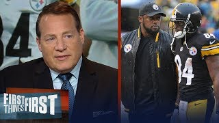 Eric Mangini on the Steelers' issues, Pressure on Tomlin, Antonio Brown   NFL   FIRST THINGS FIRST