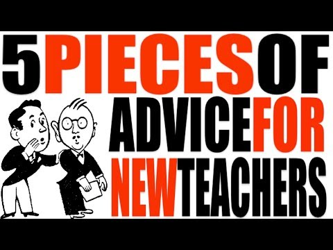 5 Pieces of Advice for New Teachers
