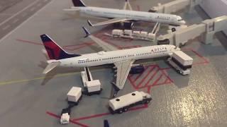 Gemini jets airport update PDX