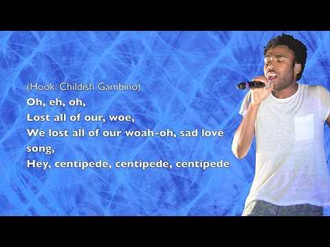 Childish Gambino - Centipede - Lyrics