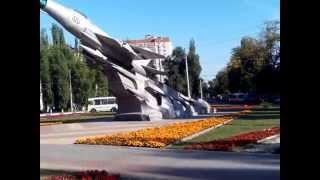 Памятник летчикам ВОВ г Воронеж