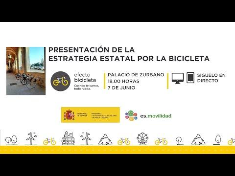 Presentación de la Estrategia Estatal por la Bicicicleta
