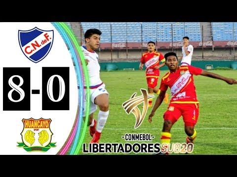Nacional de Uruguay vs Sport Huancayo 8-0 Resumen Copa Libertadores sub 20 15/02/2018.
