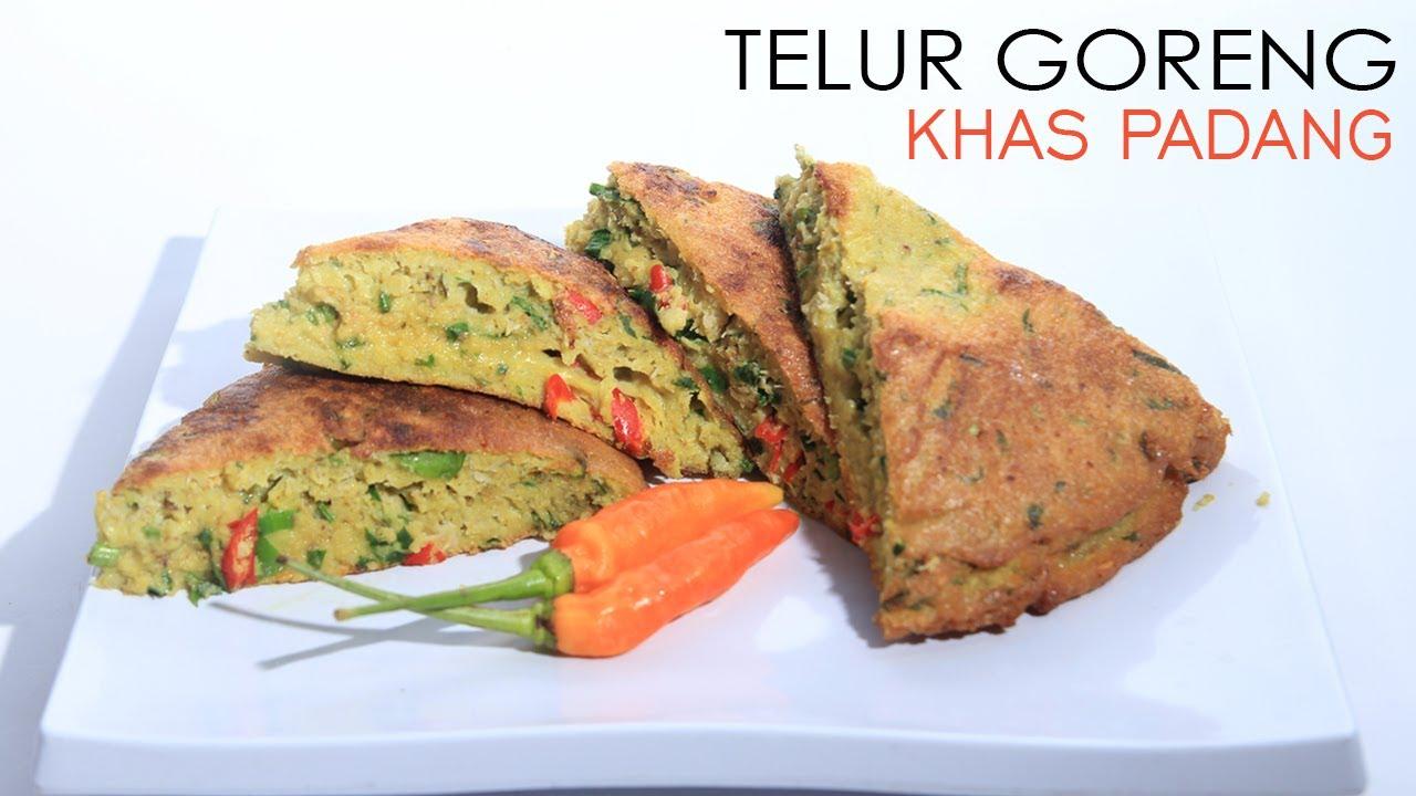 Resep Masakan Dadar Telur Goreng Khas Padang