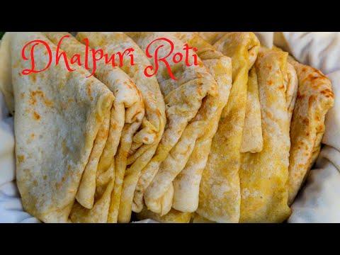 SOFT & TASTY Dhalpuri Roti (dhalpuri) - Step by Step Instructions - VEGAN