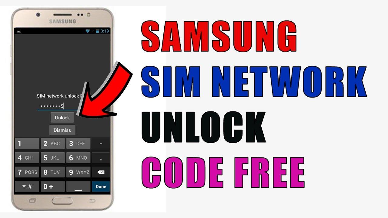 SAMSUNG J710F SIM NETWORK UNLOCK CODE FREE | samsung galaxy unlock |