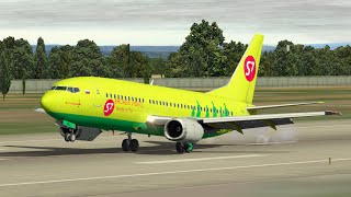 Тёплый ламповый перелёт в Иркутск. Boeing 737-300 для X-Plane