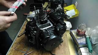 Сборка двигателя SK166FMM ч.3.