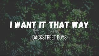 Backstreet Boys - I Want It That Way (Lyric) | Music Travel Love ft Francis Greg (Cover)