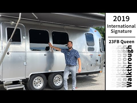 Airstream 2019 International Signature 23FB Travel Trailer Walk Through