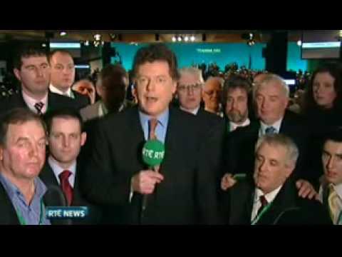 Nine News, RTE One (Irish TV), Saturday 28th February 2009
