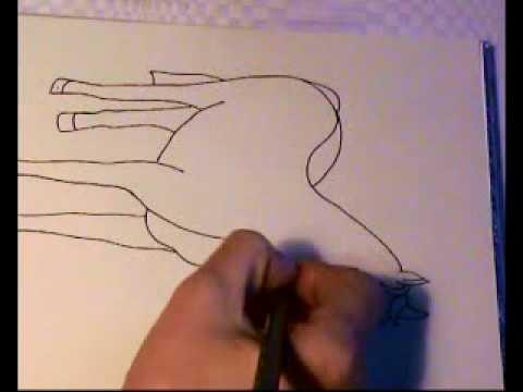 Pferde Malen Mit Malvorlagen Youtube