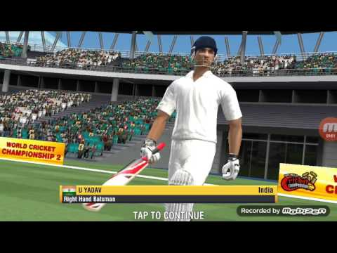 umesh73 - India vs New Zealand 2nd Test Match (30.09.2016) wcc2 game full match